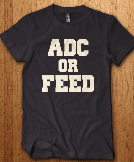 Hey, I found this really awesome Etsy listing at https://www.etsy.com/listing/243094307/adc-or-feed-troll-shirt-lol-tee-league
