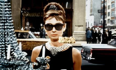 Need:  Sunglasses, HUGE pearl necklace... Breakfast at Tiffany's