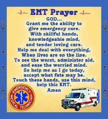 Emt Prayer Tapestry