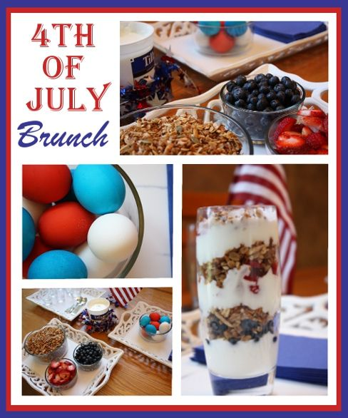 4th of July Breakfast from Everyday Art