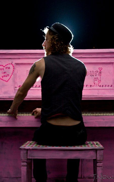 candy colored Mozart #pinkpiano