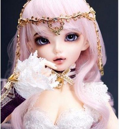 ハッピーアメジスト人形1/4 bjd人形sd人形minifeeクロエ人形(送料目+送料を構成する)