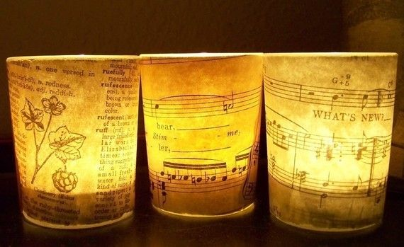 Sheet music lights