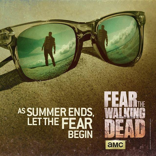 Fear The Walking Dead - Collection d'affiches pour célébrer la fin de l'été http://leblogduterminus.com/2015/09/14/fear-the-walking-dead-collection-daffiches/