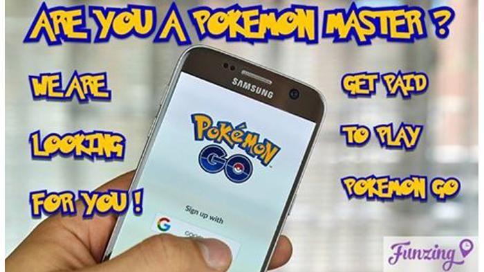 Demam Pokemon Go - Kamu Trainer Monster Profesional? Perusahaan Ini Berani Bayar…