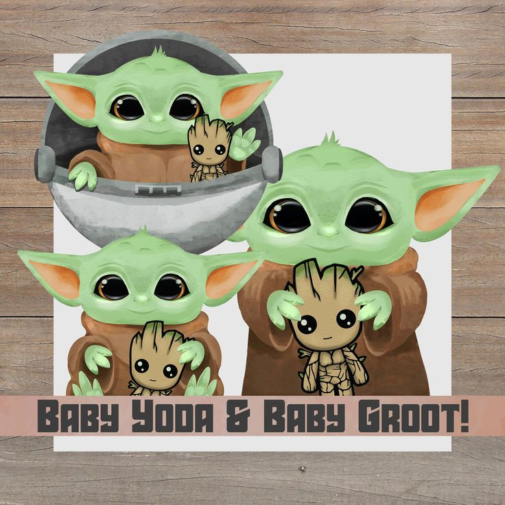 Baby Yoda And Baby Groot Png Triple Pack The Child Holding Etsy Baby Groot Cute Toothless Holding Baby