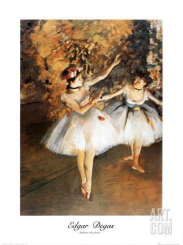 Ballerine Alla Barra Art Print by Edgar Degas at Art.com
