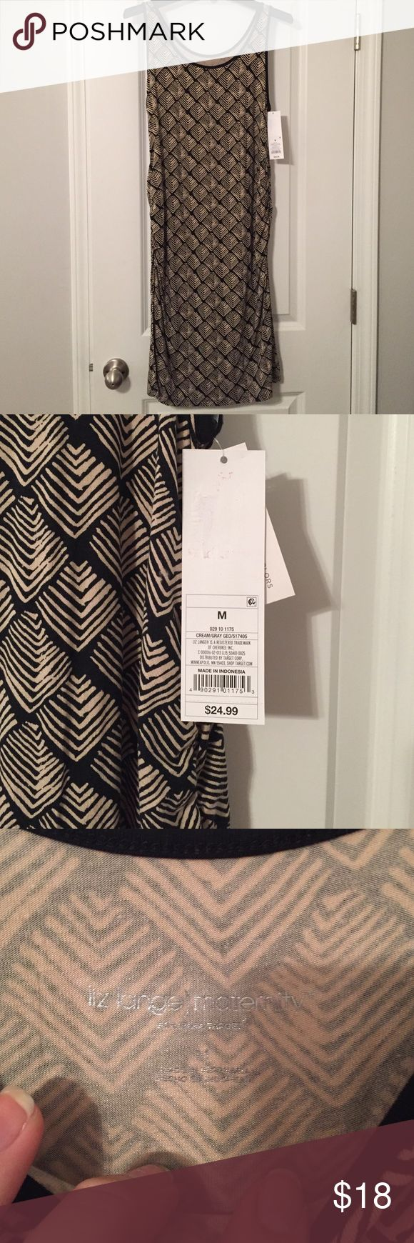 NWT Liz Lange Maternity Aztec Dress Adorable Aztec maternity dress. Brand new. Gathered sides. Can be worn even if you're not pregnant :) Thank you for stopping by! Comes from a smoke free home. Please feel free to make an offer. Happy Shopping! Liz Lange for Target Dresses