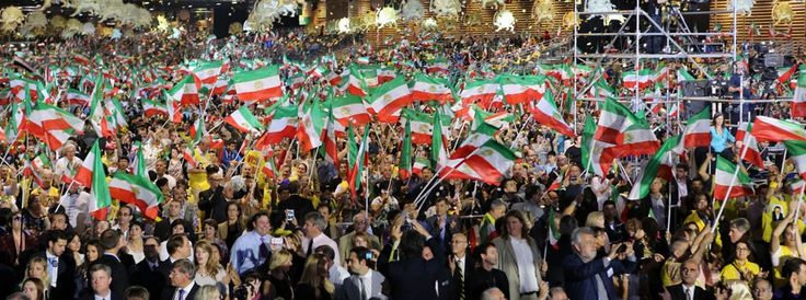 """The Grand Gathering of the Iranian People, """"All for Freedom"""" - Paris June 27, 2014"""