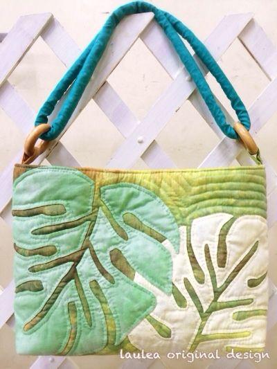 素敵なバッグが完成 - Hawaiian quilt Laulea