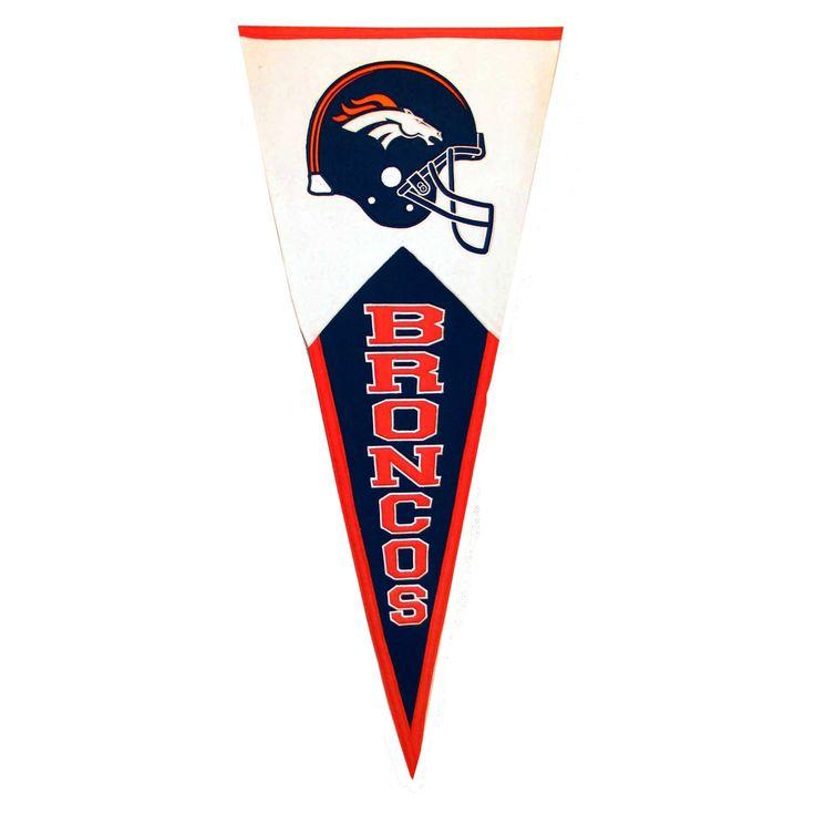 Winning Streak Denver Broncos Classic Wool Pennant