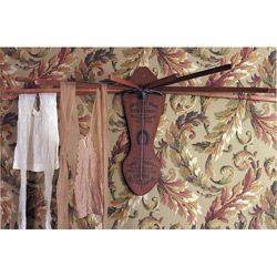 Victorian Trading Company Wooden Clothes Drying Rack - laundry room