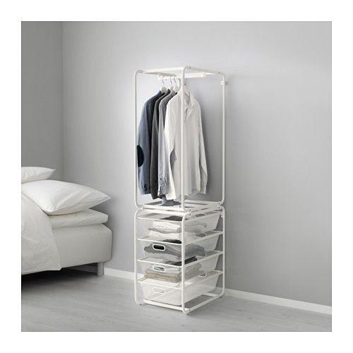 ALGOT Estrutura c/varão/cestos metálicos IKEA
