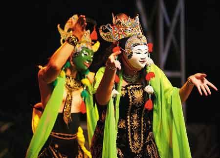 Tari Topeng-Traditional Dance