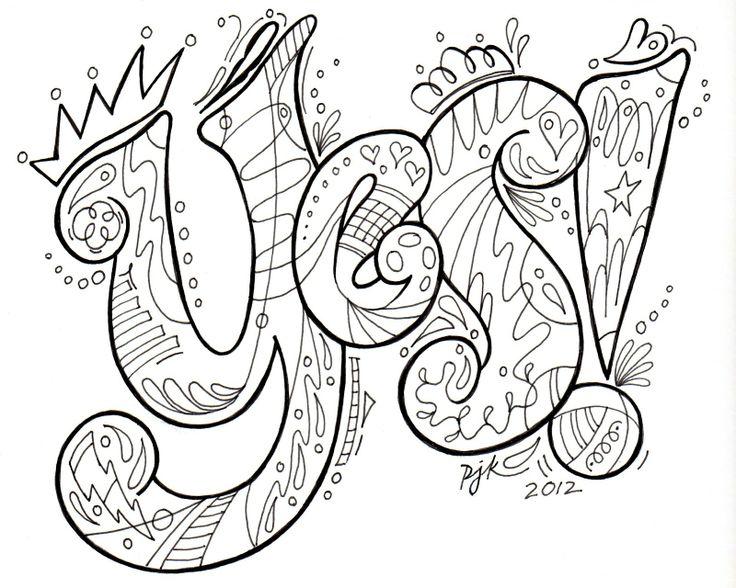 Pamela Jane's Studio: doodling class in april