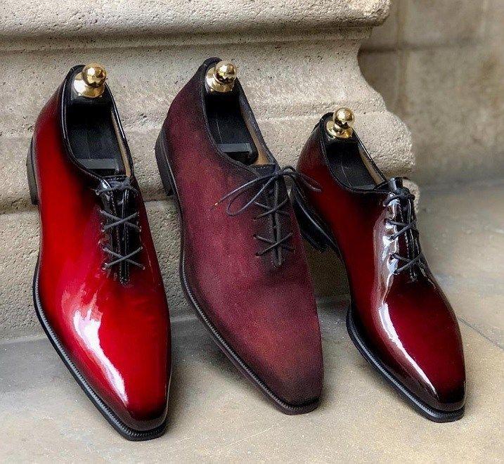 Burgundy Wholecuts By Altan Bottier The Shoe Snob Blog Dress Shoes Men Dress Shoes Gentleman Shoes