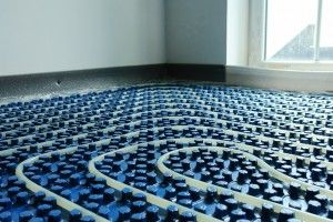 La réalisation du plancher chauffant en rénovation