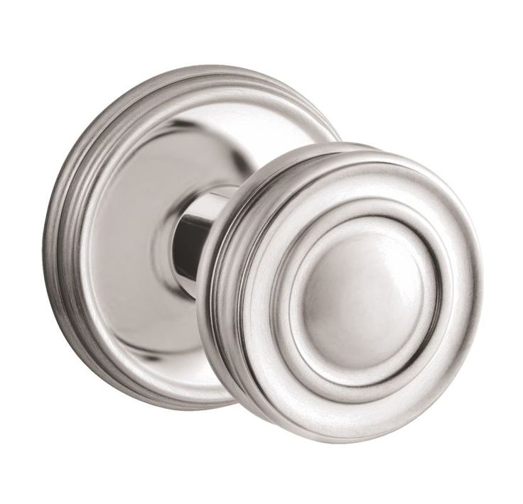 Baldwin 5066.M.IDM 5066 Style Single Dummy Door Knob with choice of Medium Roset