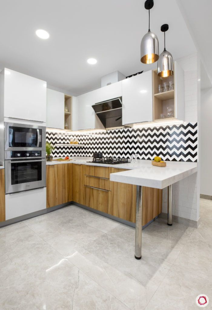 8 Colour Schemes For Indian Kitchens In 2020 New Kitchen Interior Kitchen Tiles Design White Kitchen Design