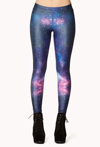 galaxy leggings | forever 21 | Pinterest