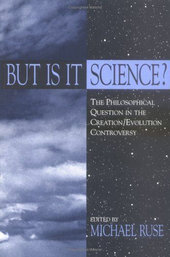 "But Is It Science?: The Philosophical Question in the Creation/Evolution Controversy (Frontiers of Philosophy):   On December 20, 2005, a U.S. district court in Dover, Pennsylvania, ruled in Kitzmiller et al. v. Dover Area School Board that teaching Intelligent Design in public school biology classes violates the Establishment Clause of the First Amendment to the Constitution of the United States. The judge explained that Intelligent Design is not science and ""cannot uncouple itself fr..."
