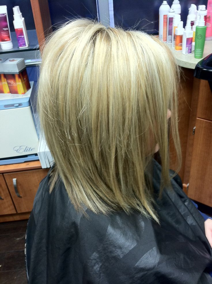 Short Blonde Hair High Lights Amp Low Lights Fall Color