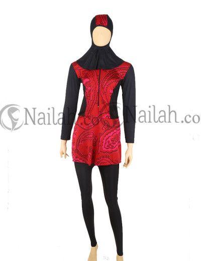 Romantic Rose Muslimah Baju Muslim - 189000 - www.nailah.co
