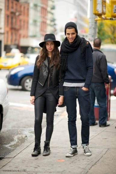 2 Kool 2 Adorable: Couples With Street Style