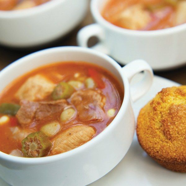 """""""If gumbo is the national stew of Cajun country, burgoo is the stew of Kentucky,"""" Ronni Lundy asserts in her book Shuck Beans, Stack Cakes, and Honest Fried Chicken. Because the stew is made in many different ways with a variety of ingredients, the """"Burgoo Song"""" by Robert Myles claims, """"You can toss in almost anything that ever walked or flew."""" Many early recipes for burgoo include squirrel in addition to chicken, beef, and pork. In Kentucky, Anderson County, whi..."""