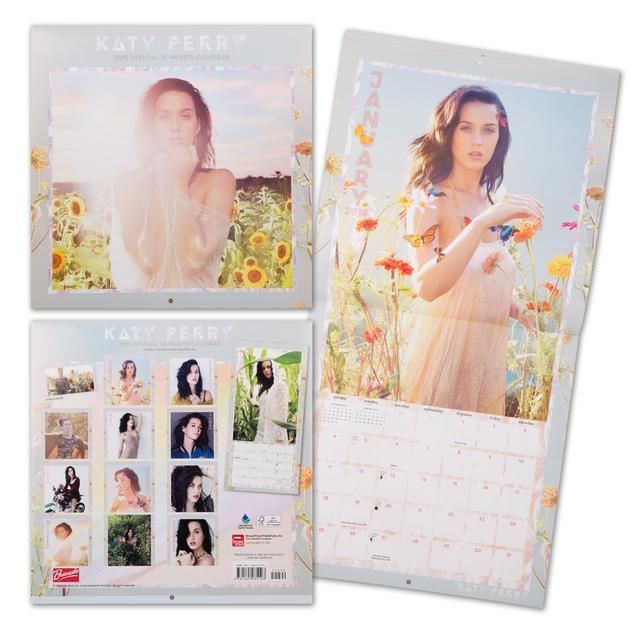 Check out Katy Perry Official 2015 Calendar on @Merchbar.