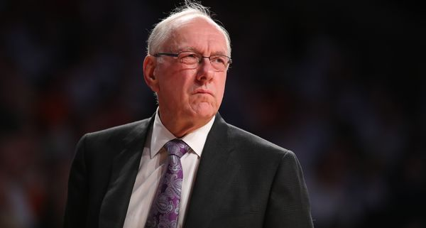 Jim Boeheim was noticeably salty after Syracuse's NCAA tournament snub on Selection Sunday.
