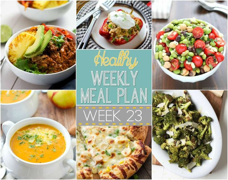 93 best healthy recipes images on pinterest healthy eating habits healthy menu plan week with salt and wit forumfinder Image collections