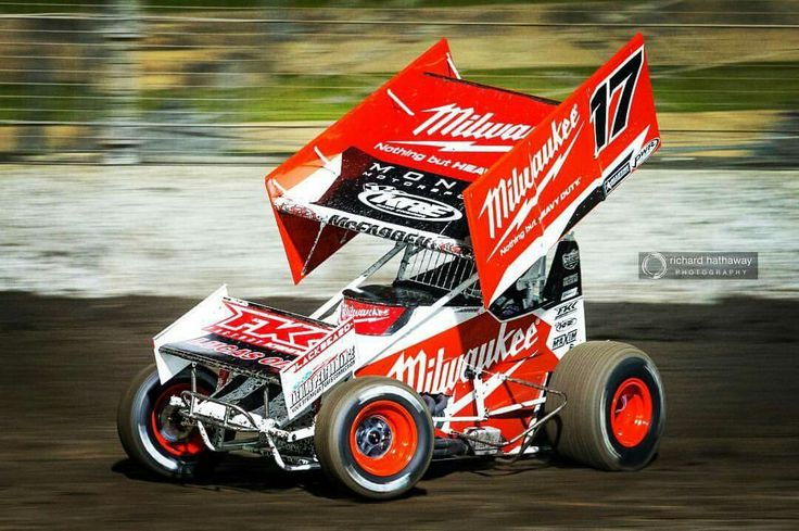 Winged Sprint Cars from Down Under