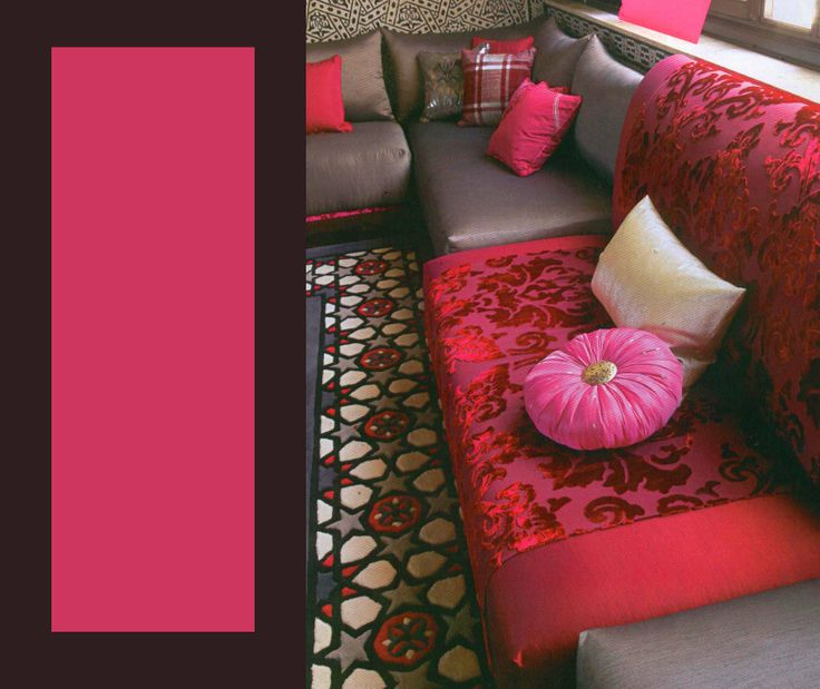 86 best moroccan living room images on pinterest for Salon oriental chic