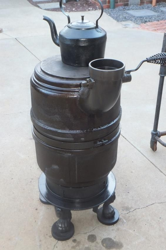 how to build a rocket stove forge