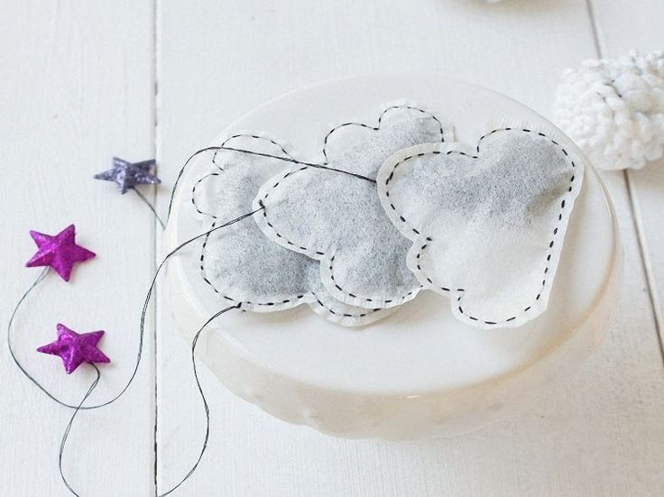 Tutoriel DIY: Créer des sachets de thé en forme de nuage via DaWanda.com