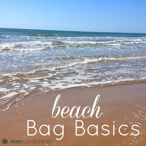 Beach Bag Basics. Great list! don't forget to read this before heading to the beach or pool.