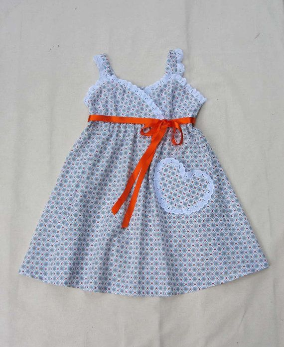Little Cup Cake Dress by Felicity Patterns. Girl's PDF Dress Pattern.  Sizes 1 - 10 years. Children's PDF Sewing Pattern.