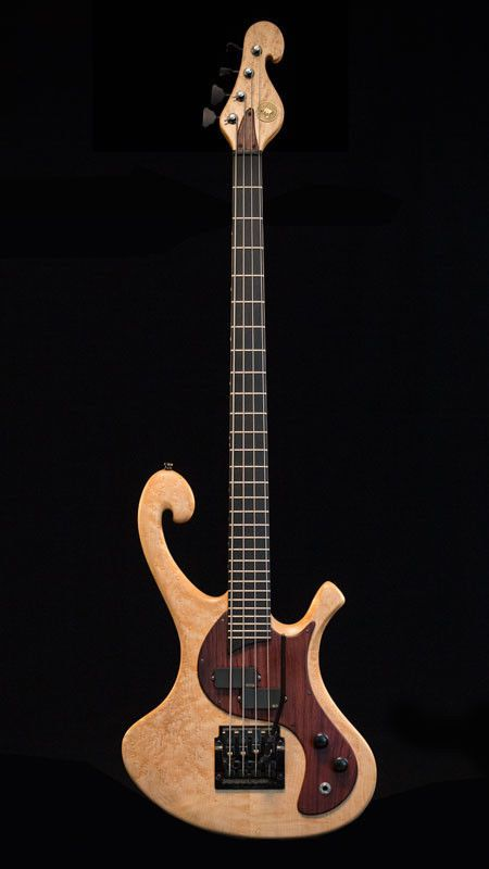 Les Claypool designed official PACHYDERM Bass Maple 4 String Primus
