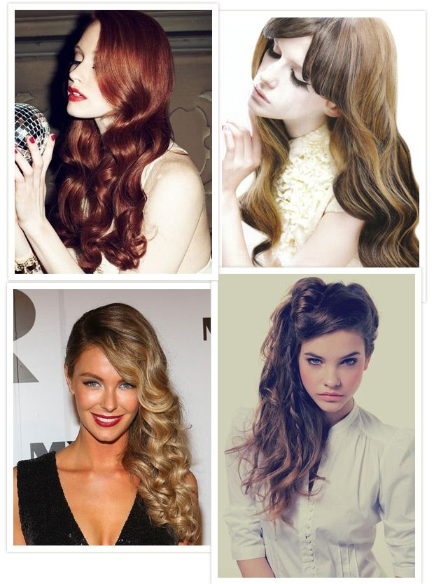 Hollywood Waves - Read More on One Fab Day http://onefabday.com/long-hair-bridal-styles/
