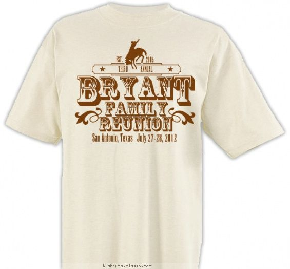 rodeo reunion t shirt design