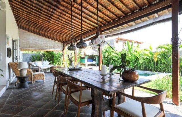 Villa Harmony in Bali. Wood, classic, bali futures, modern, luxury tropical open living,  terrace