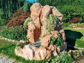 ruscalli giardinidacqua cascate laghetti ornamentali giardino accesori giochi d'acqua cascata vetroresina bacini ruscelli giardino piante acquatiche vivai giardini
