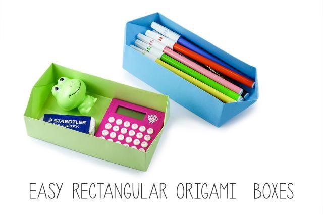 Easy Rectangular Origami Box Instructions: Easy Rectangular Origami Box Instructions