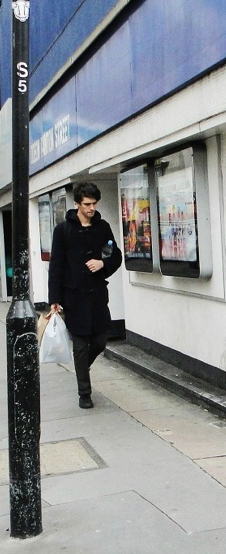 Ben Whishaw: Flawlessly carrying groceries