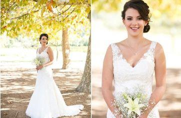 View Lisa van den Worm's special moments in her Ilse Roux wedding dress creation :: Ilse Roux Bridal Wear