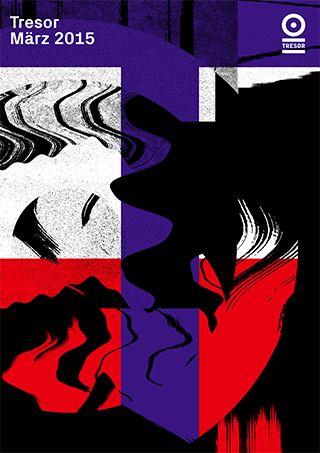 TRESOR CLUB—NOVEMBER 15A selection of monthly artwork. - Vanja Golubovic