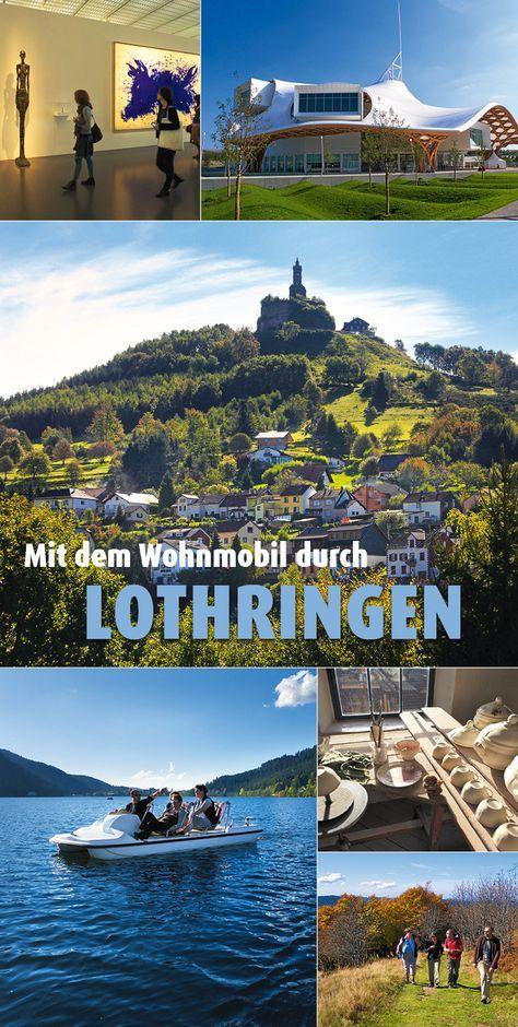 Malerische Hügel, hohe Gipfel, zauberhafte Gärten und tiefblaue Seen: #Lothringen ist ein Naturparadies, das zu einer erholsamen Tour mit dem #Wohnmobil einlädt. Hinzu kommt das reiche Kulturerbe. #Frankreich