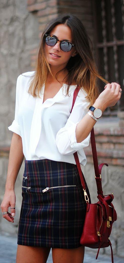 Checks by Fashionvibe  # kilts are also skirts... And skirts are also kilts... So why not men wear skirts