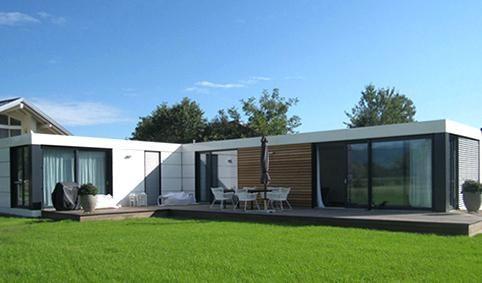 schickes modulhaus zu verkaufen tiny houses cubig house deutschland preise open plan bungalow
